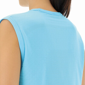 UYN Airstream Sleeveless Running Shirt Women, blue atoll
